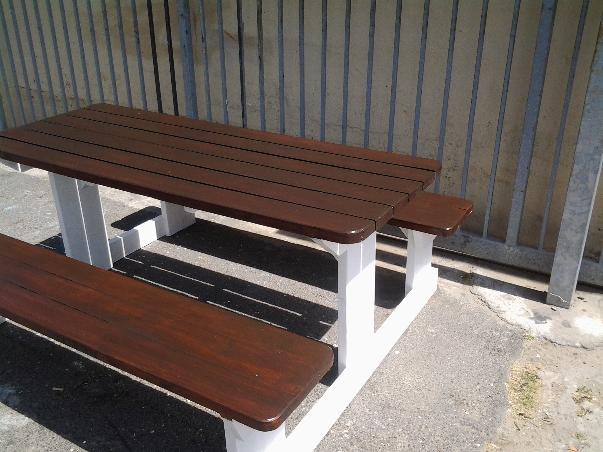 Amazing photo of Outdoor Furniture Outdoor Benches Walk in Benches Cape Town with #5E3C30 color and 2048x1536 pixels
