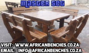dark brown woodedn benches, pub benches, outdoor benches