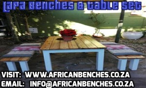 indoor benches and outdoor benches