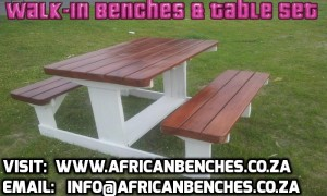 benches africa