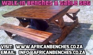 octo benches, garden benches