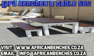 parking benches, club benches, cape town benches, stellenbosch benches, benches