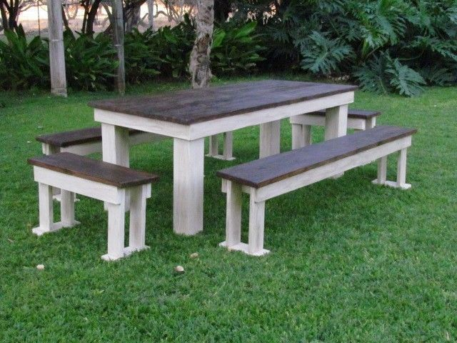 Outdoor furniture wooden patio benches garden benches