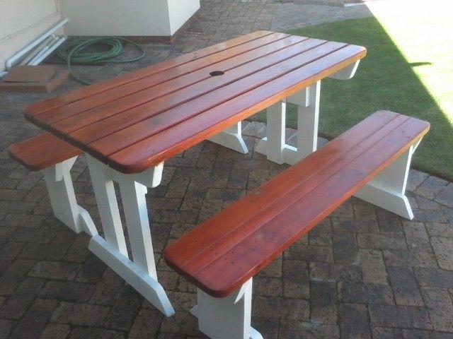 Astounding Outdoor Furniture Outdoor Benches Garden Benches Patio Bralicious Painted Fabric Chair Ideas Braliciousco