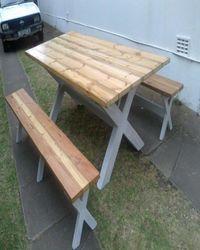 garden outdoor benches