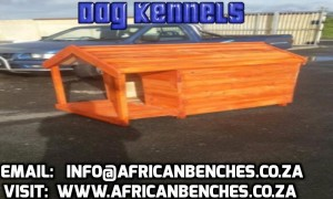 picnic benches and kennels for Dogs